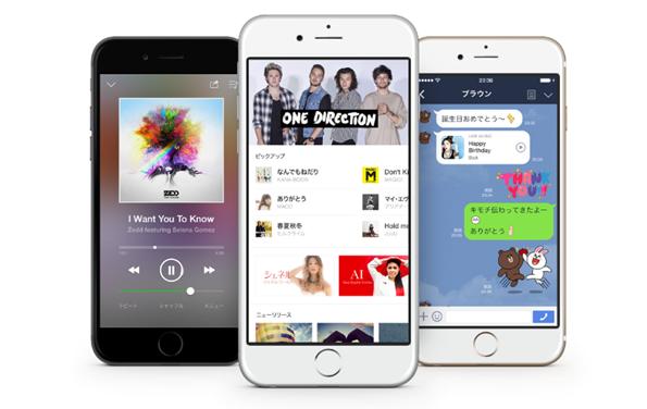 LINE MUSICがネット接続なし(圏外)でも曲が聴けるオフライン再生機能を追加